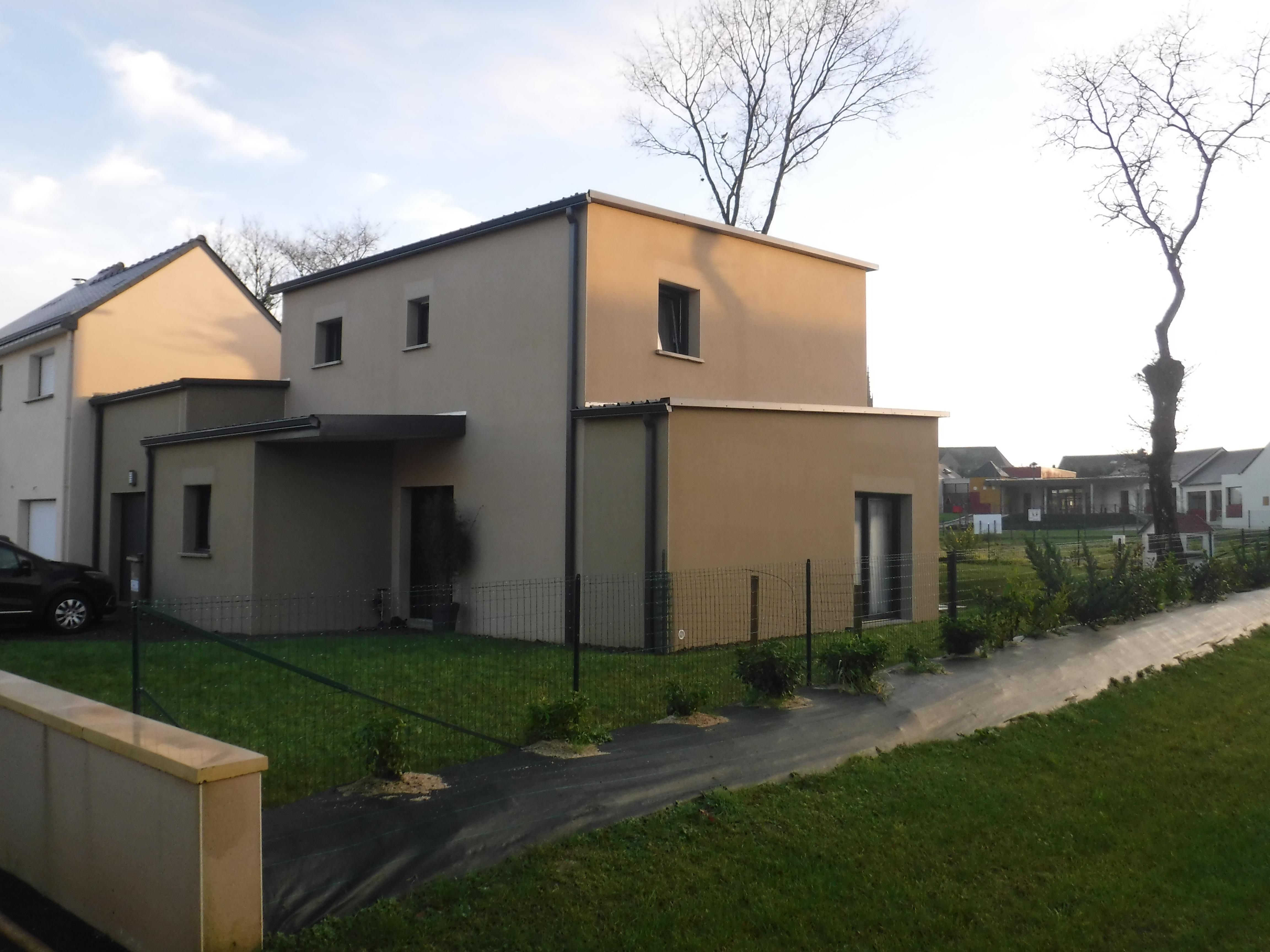 Construction de maison à la bouëxière gcp etude et réalisation