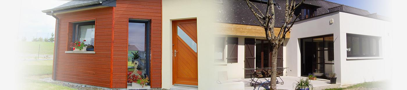 Extension maison ille et vilaine g c p au meilleur prix for Constructeur de maison en bois ille et vilaine